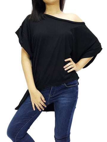 BF01 Blouses Off Shoulder Black, Cozzzy, HaremPantsThai