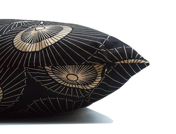 Ancient Umbrella : ONE 20x20 inch Handmade Decorative pillow Covers - Satin fabric - PST2