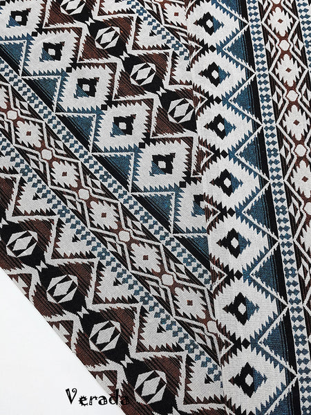 thai woven fabric tribal fabric native cotton fabric by the yard ethnic fabric craft fabric craft supplies woven textile 1 2 yard wf126