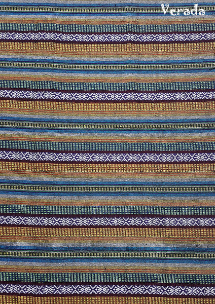 Thai Woven Cotton Tribal Fabric Textile 1/2 yard (WF133), VeradaCraft, HaremPantsThai