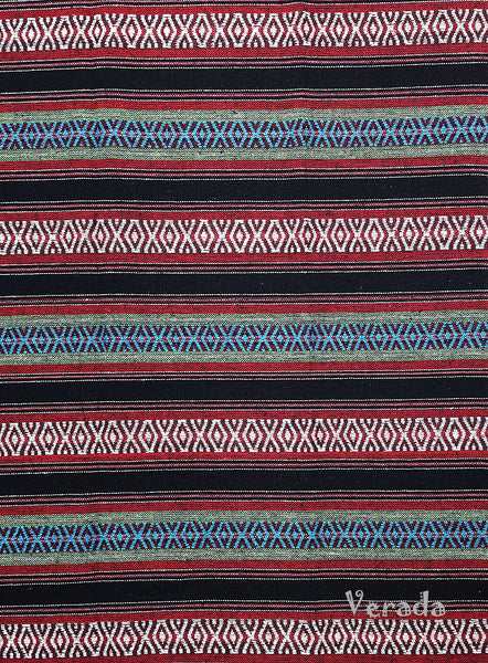 Thai Woven Cotton Tribal Fabric Textile 1/2 yard (WF134), VeradaCraft, HaremPantsThai