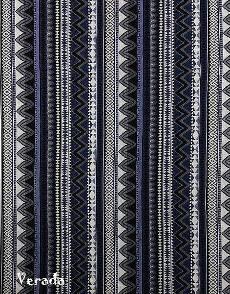 Thai Woven Cotton Tribal Fabric  Supplies 1/2 yard Indigo Blue (WF136), VeradaCraft, HaremPantsThai