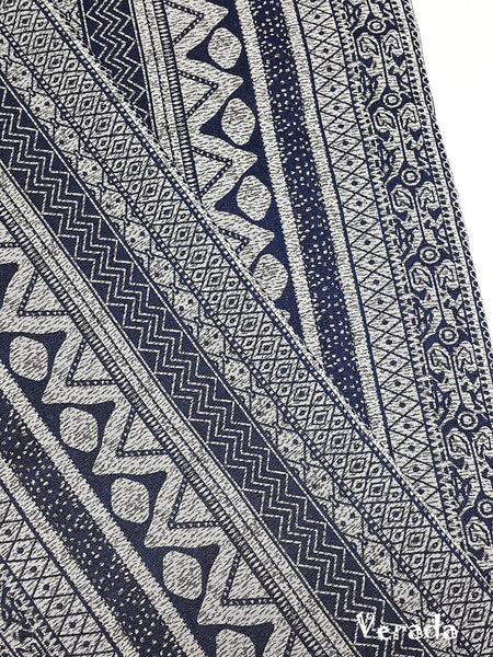 thai woven fabric tribal fabric native fabric by the yard ethnic fabric aztec fabric craft supplies woven textile 1 2 yard blue wf137