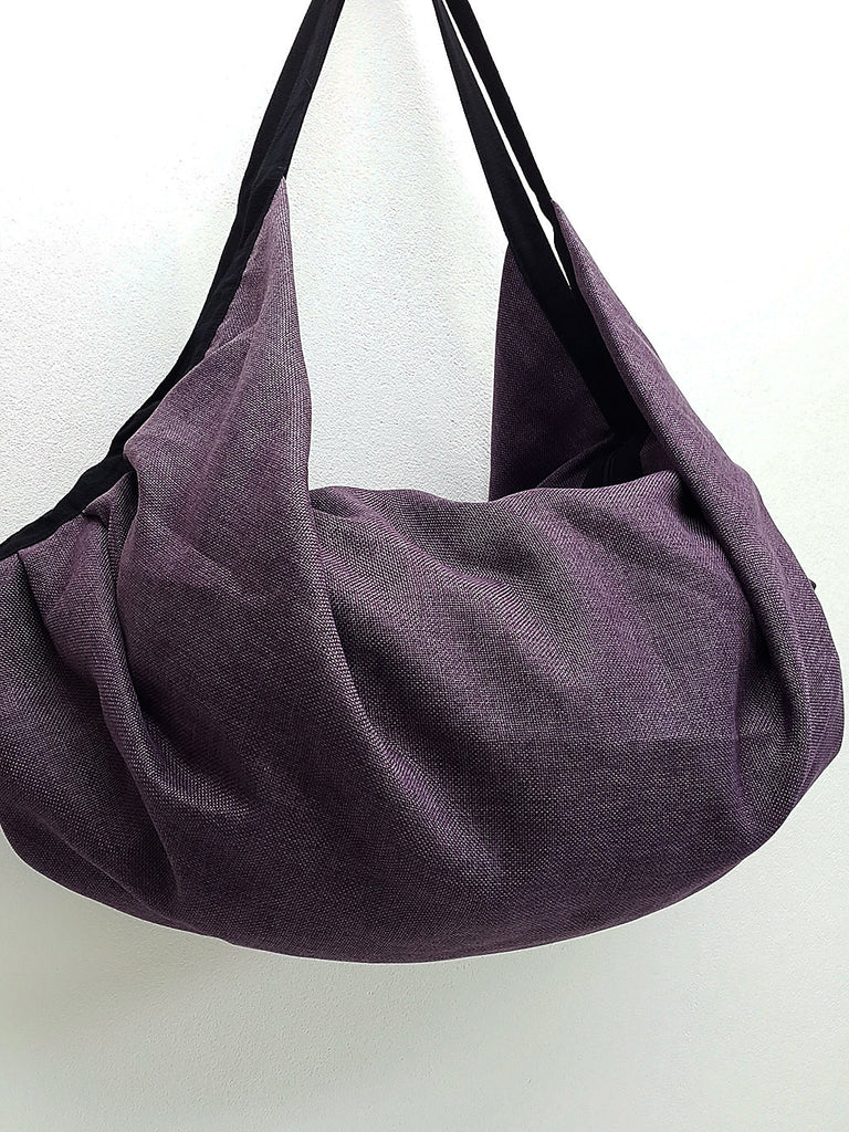 Cotton Bag Backpack Hippie bag Hobo bag Boho bag Shoulder bag Tote Handbags Travel Bag Crossbody Bag Tribal bag Gypsy Bag Purple, VeradaShop, HaremPantsThai
