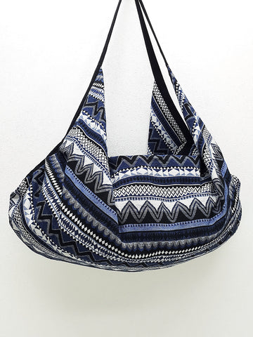 Woven Bag Backpack Hippie bag Hobo bag Boho bag Shoulder bag Tote Handbags Travel Bag Crossbody Bag Tribal bag Gypsy Bag Blue