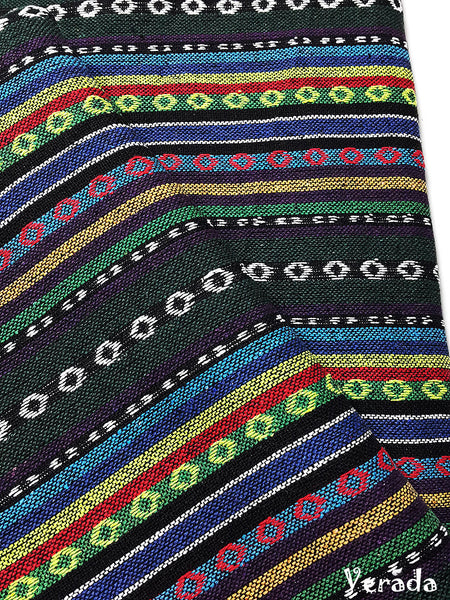 thai woven cotton fabric tribal fabric native fabric by the yard ethnic fabric aztec fabric craft supplies woven textile 1 2 yard wf150