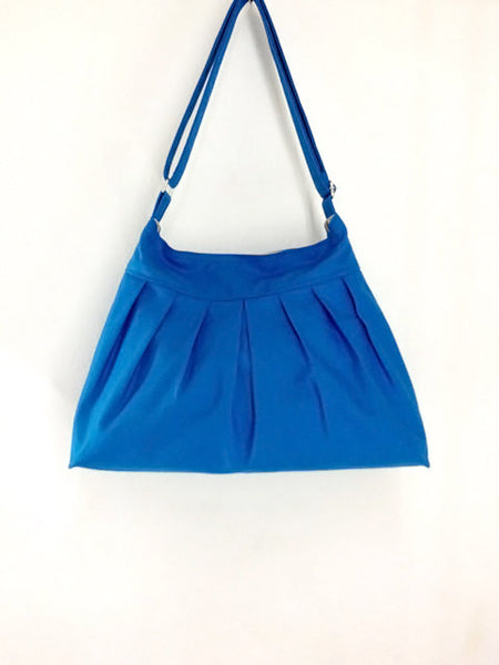 Canvas Handbags Shoulder bag Hobo bag Tote bag  Blue  Cherry, VeradaShop, HaremPantsThai