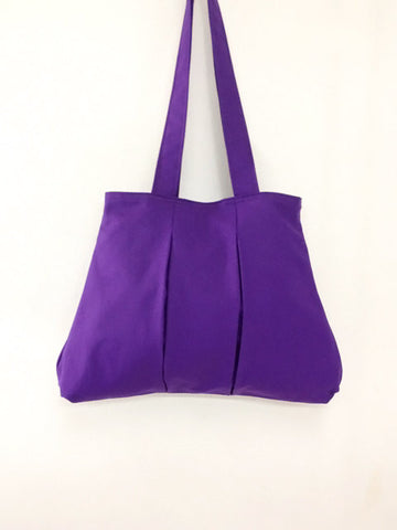 Handbags Canvas Shoulder bag Hobo bag Tote bag Double Straps  Violet  Diana, VeradaShop, HaremPantsThai