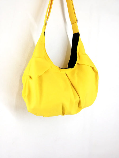 Canvas Handbags Shoulder bag Hobo bag Tote bag  Yellow  Gna2, VeradaShop, HaremPantsThai