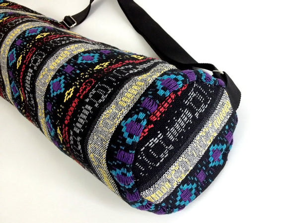 Thai Handmade Woven Yoga Mat Bag Sports Bags Pilates Mat Bag (WF20), VeradaShop, HaremPantsThai