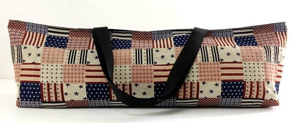 Thai Handmade Woven Yoga Mat Bag Sports bags Pilates Mat Bag  American flag bag, VeradaShop, HaremPantsThai