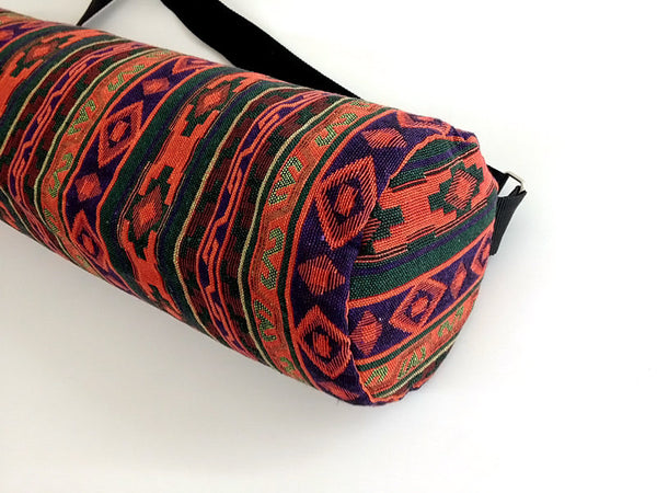 Thai Handmade Woven Yoga Mat Bag Sports Bags Pilates Mat Bag (WF45), VeradaShop, HaremPantsThai
