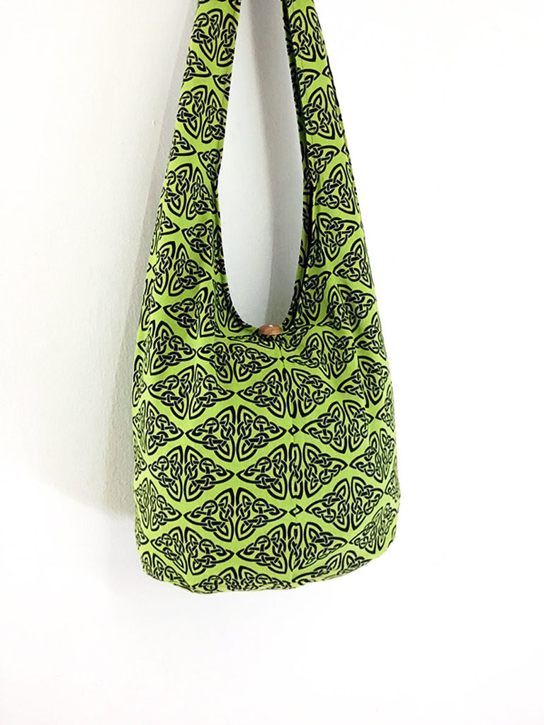 Women bag Handbags Thai Cotton bag Hippie bag Hobo bag Boho bag Shoulder bag Sling bag bag Tote bag Crossbody bag Purse Green