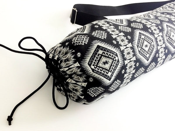 Thai Handmade Woven Yoga Mat Bag Sports Bags Pilates Mat Bag (WF50), VeradaShop, HaremPantsThai