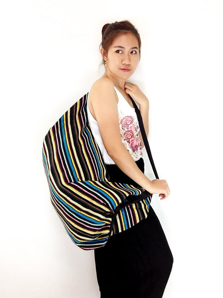 Woven Bag backpack Hobo Boho bag Shoulder Bag Crossbody Bag Tribal bag Gypsy Bag, VeradaShop, HaremPantsThai