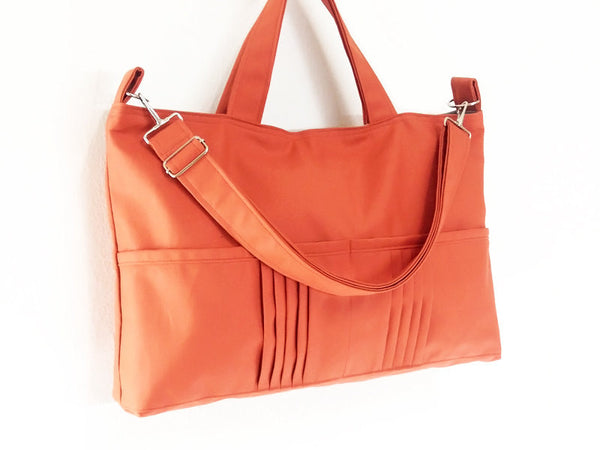 Canvas Handbags Shoulder bag Hobo bag Tote bag Messenger Bags Burnt Orange Amy, VeradaShop, HaremPantsThai