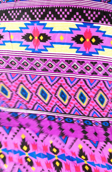 ST62 Rayon Bohemian Trousers Hippie Boho Pants Colorful Purple, NaughtyGirl, HaremPantsThai