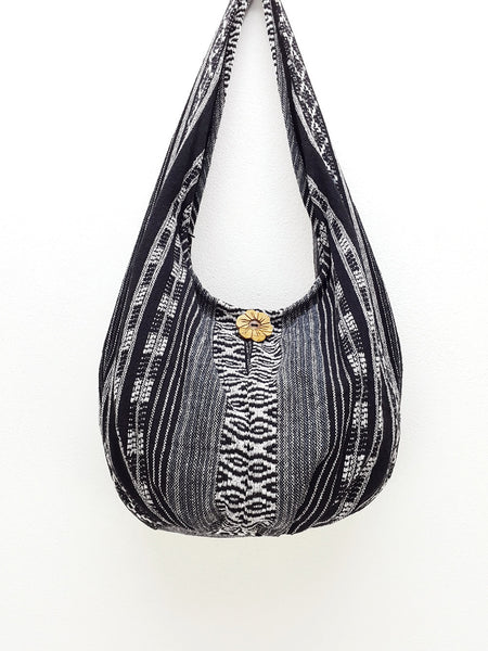 Woven Bag Cotton Bag Tribal bag Hobo Boho bag Shoulder Bag Short straps (WF48), VeradaShop, HaremPantsThai