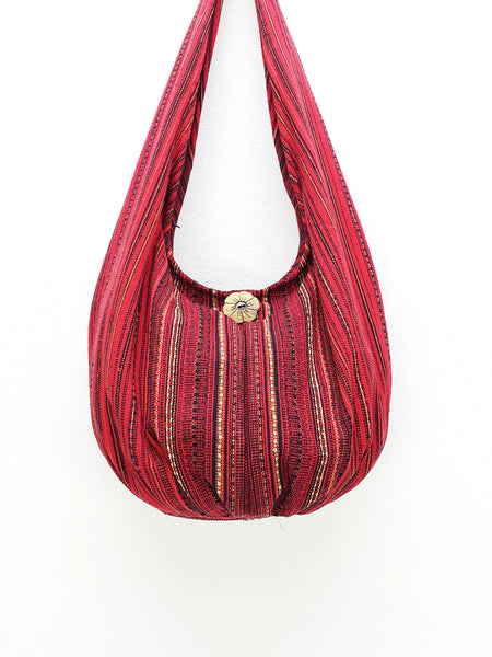 Woven Bag Handbags Tote Thai Cotton Bag Tribal bag Hippie bag Hobo bag Boho bag Shoulder bag Women bag Gypsy bag Short Strap (WF2)