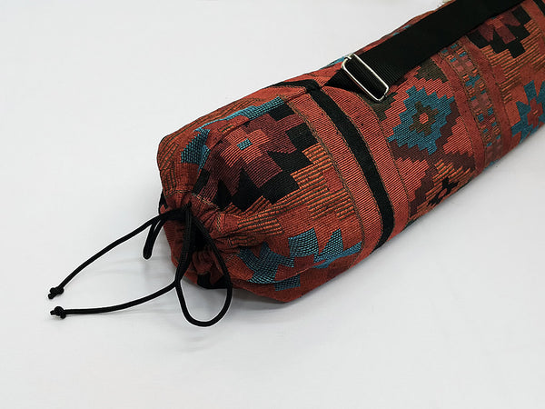 Thai Handmade Woven Yoga Mat Bag Sports Bags Pilates Mat Bag (WF25), VeradaShop, HaremPantsThai