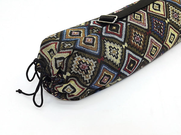 Thai Handmade Woven Yoga Mat Bag Sports Bags Pilates Mat Bag (WF76), VeradaShop, HaremPantsThai