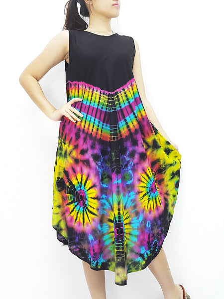 PTD3@-17 Rayon Maxi Dress Hobo Hippie Boho Bohemain Hippie Gypsy Black, NaughtyGirl, HaremPantsThai