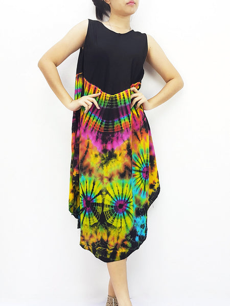 PTD3@-22 Rayon Maxi Dress Hobo Hippie Boho Bohemain Hippie Gypsy Black, NaughtyGirl, HaremPantsThai