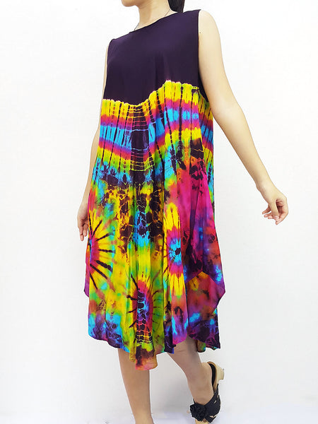 PTD3@-33 Rayon Maxi Dress Hobo Hippie Boho Bohemain Hippie Gypsy Purple, NaughtyGirl, HaremPantsThai