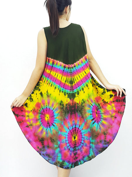 PTD3@-36 Rayon Maxi Dress Hobo Hippie Boho Bohemain Hippie Gypsy Green, NaughtyGirl, HaremPantsThai