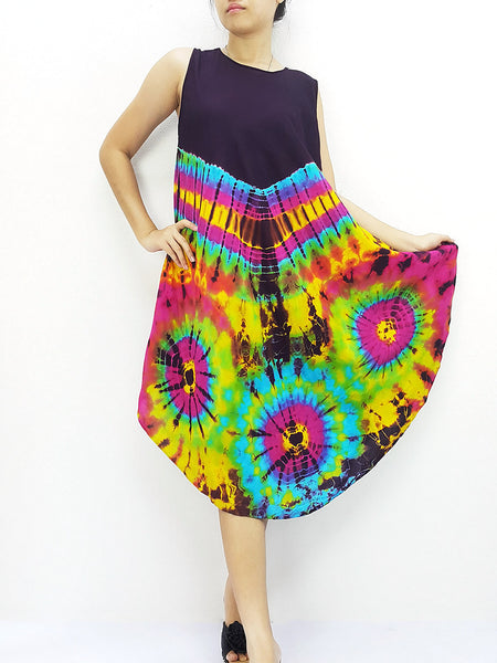 PTD3@-27 Thai Women Clothing Rayon Maxi Dress Hobo Hippie Boho Bohemain Hippie Gypsy Style Purple