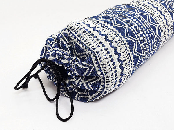 Yoga Mat Bag Sports Bags Pilates Mat Bag Navy Blue (WF70), VeradaShop, HaremPantsThai