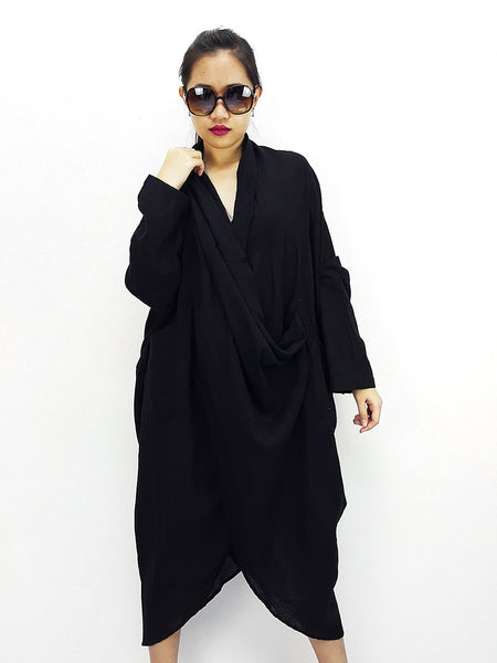 BY3248 Women Clothing Printed Natural Cotton Open Shoulder Tunic Sexy Luxury  Black, Blouses, NaughtyGirl, HaremPantsThai