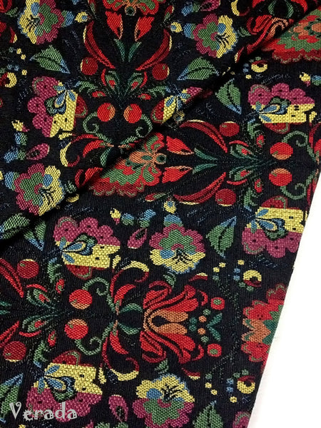 thai woven fabric tribal fabric native fabric by the yard ethnic fabric aztec fabric craft supplies woven textile 1 2 yard black wf24
