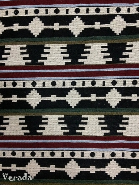 Thai Tribal Native Woven Fabric Cotton Textile 1/2 yard (WF29), VeradaCraft, HaremPantsThai