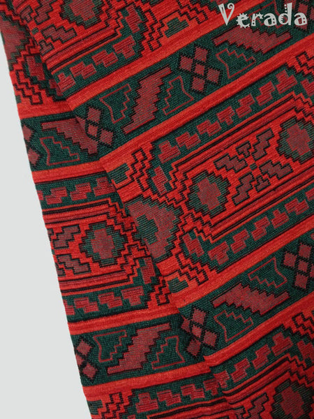 thai woven cotton fabric tribal fabric native fabric by the yard ethnic fabric aztec fabric craft supplies woven textile 1 2 yard wf27