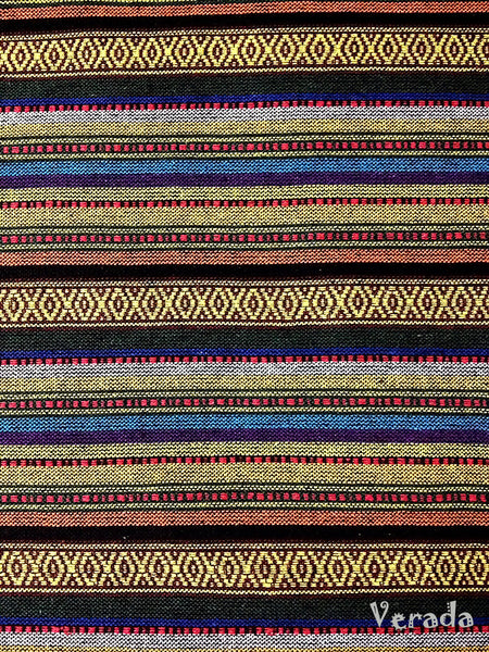 Thai Tribal Native Woven Fabric Cotton Textile 1/2 yard (WF40), VeradaCraft, HaremPantsThai