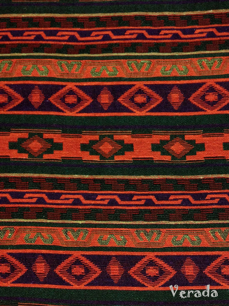 Thai Tribal Native Woven Fabric Cotton Textile 1/2 yard (WF45), VeradaCraft, HaremPantsThai