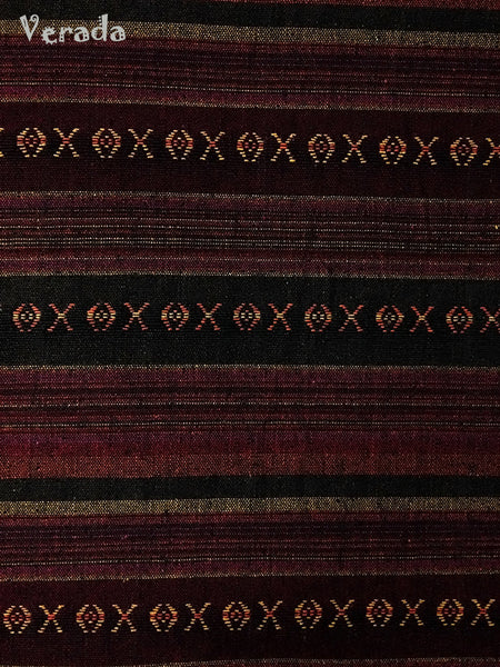 Thai Woven Cotton Tribal Fabric Textile 1/2 yard (WF58), VeradaCraft, HaremPantsThai