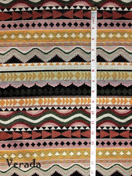 Thai Tribal Native Woven Fabric Cotton Textile 1/2 yard (WF62), VeradaCraft, HaremPantsThai