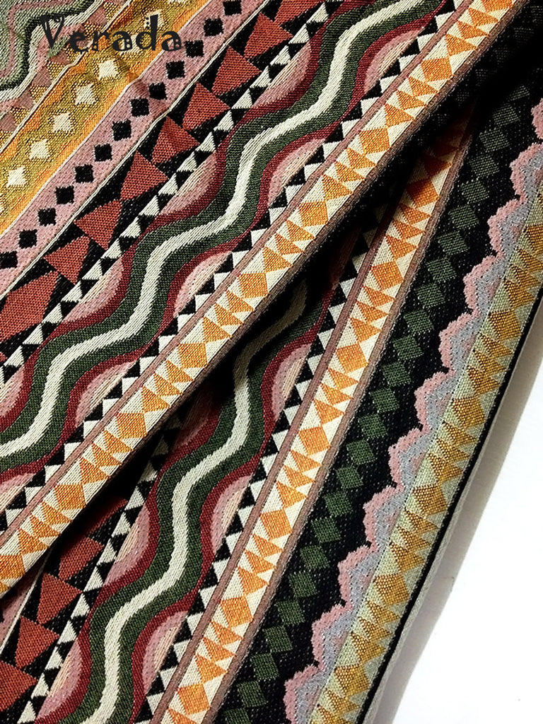 thai woven fabric tribal fabric native cotton fabric by the yard ethnic fabric craft fabric craft supplies woven textile 1 2 yard wf62