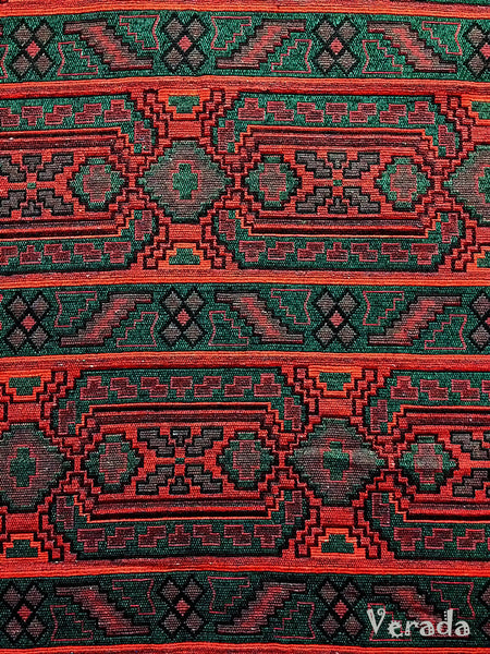 Thai Woven Cotton Tribal Fabric Textile 1/2 yard (WF66), VeradaCraft, HaremPantsThai