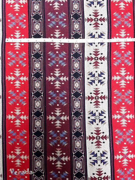 Thai Woven Cotton Tribal Fabric Textile 1/2 yard (WF73), VeradaCraft, HaremPantsThai