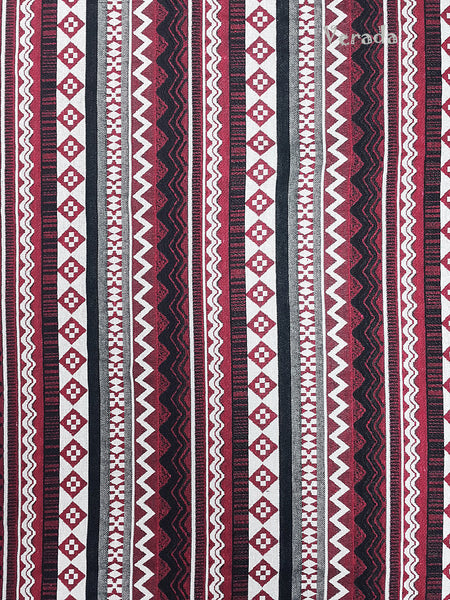 Thai Tribal Native Woven Fabric Cotton Textile 1/2 yard (WF79), VeradaCraft, HaremPantsThai