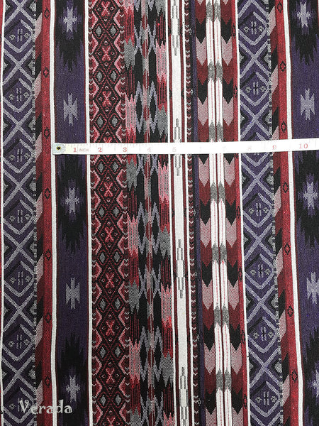 Thai Tribal Native Woven Fabric Cotton Textile 1/2 yard (WF80), VeradaCraft, HaremPantsThai