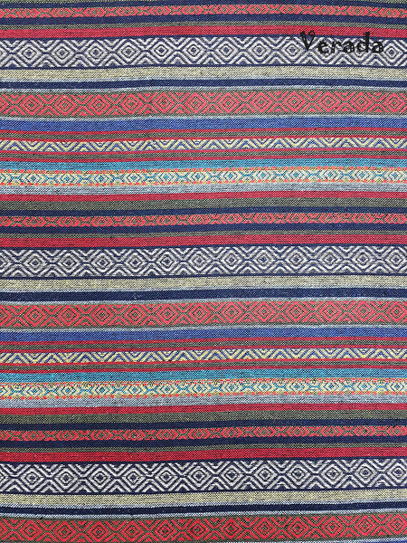 Thai Woven Cotton Tribal Fabric Textile 1/2 yard (WF82), VeradaCraft, HaremPantsThai