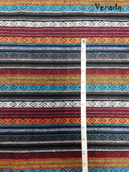 Thai Woven Cotton Tribal Fabric Textile 1/2 yard (WF83), VeradaCraft, HaremPantsThai