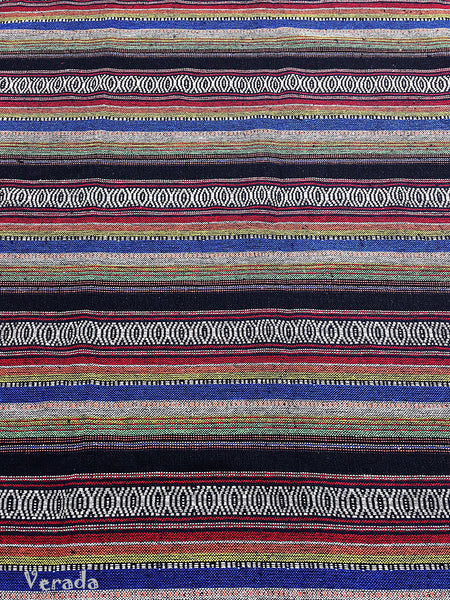 Thai Tribal Native Woven Fabric Textile 1/2 yard (WF95), VeradaCraft, HaremPantsThai