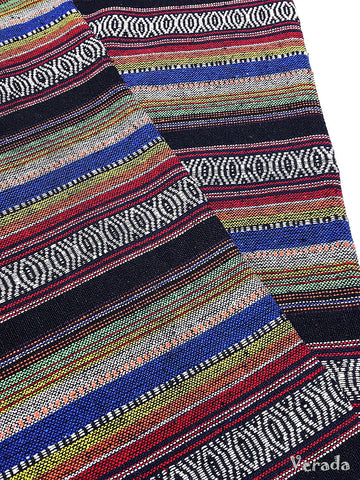 thai woven fabric tribal fabric native fabric by the yard ethnic fabric aztec fabric craft supplies woven textile 1 2 yard wf95