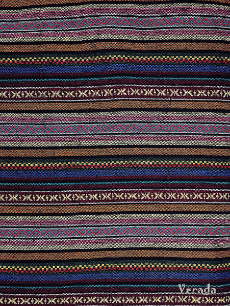 Thai Tribal Native Woven Fabric Textile 1/2 yard (WF97), VeradaCraft, HaremPantsThai