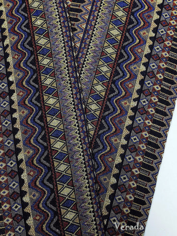thai woven fabric tribal fabric native fabric by the yard ethnic fabric aztec fabric craft supplies woven textile 1 2 yard wf102